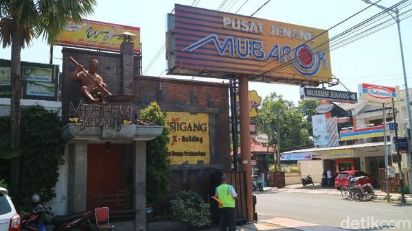 Inilah Museum Jenang yang berada di Jalan Sunan Muria nomor 33 Kecamatan Kota, Kudus. Museum Jenang ini didirikan oleh salah satu perusahaan jenang di Kudus, Mubarokfood. (Dian Utoro Aji/detikTravel)