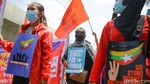 Polisi Bubarkan Aksi Dukungan Myanmar Jelang KTT ASEAN
