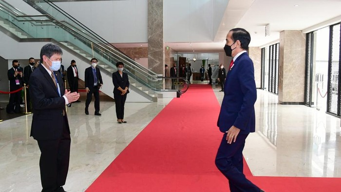Presiden Jokowi Hadiri KTT ASEAN 2021 di Sekertariat ASEAN