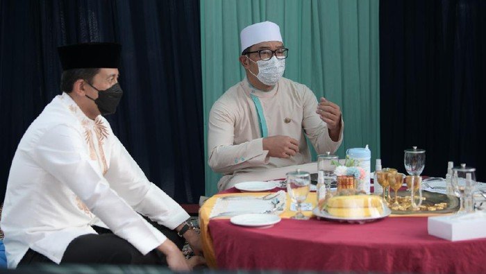 Ridwan Kamil Gelar Buka Bersama on The Screen