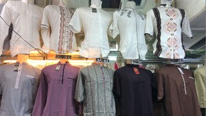 Jelang Lebaran 2021, Baju Koko Kurta Mulai Diburu di Tanah Abang