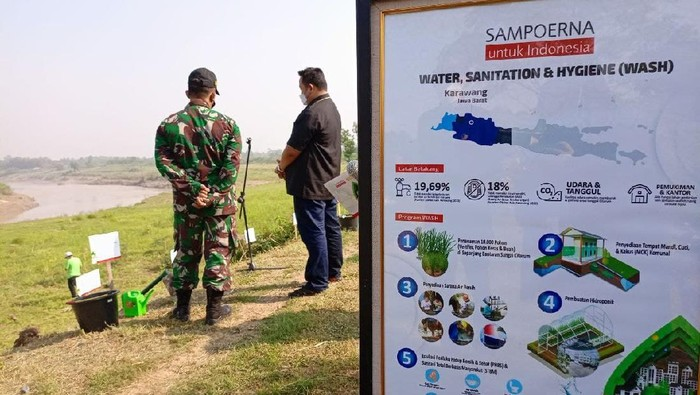 Program WASH bertujuan untuk meningkatan kualitas kesehatan masyarakat dan lingkungan dengan menyediakan akses air bersih, sanitasi yang sehat.