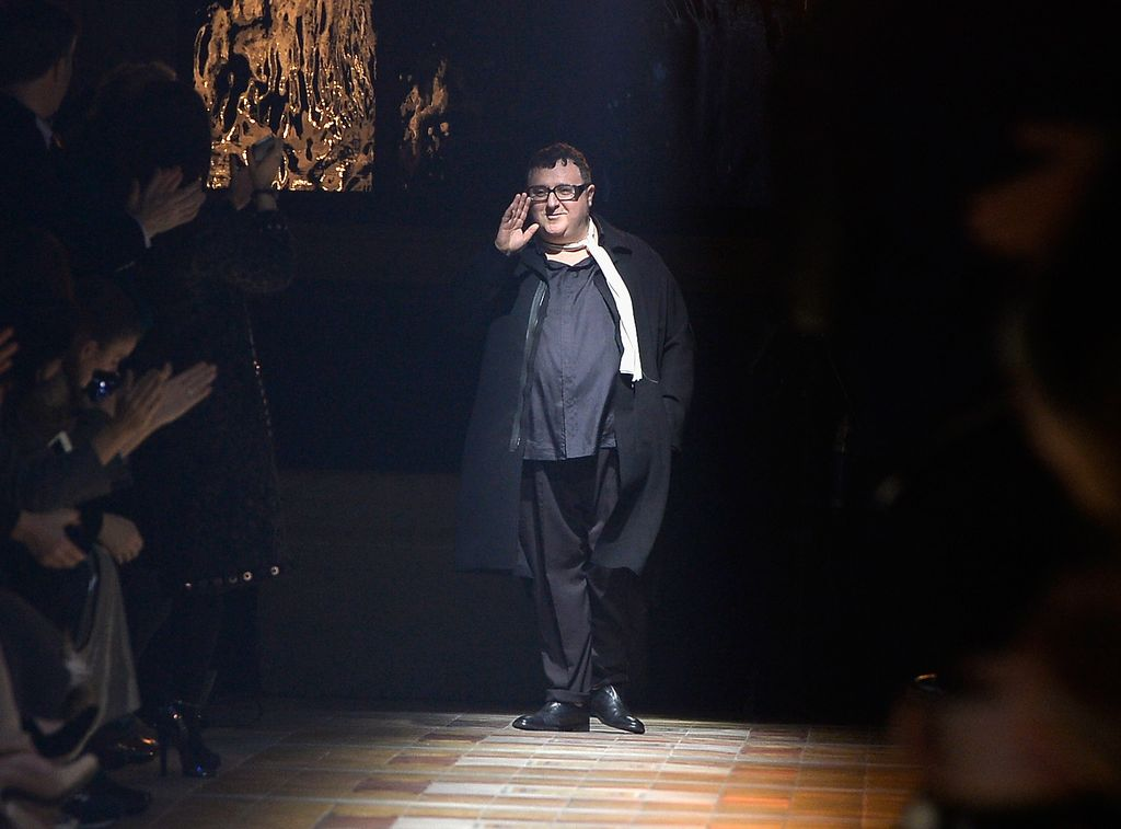 MADRID, SPAIN - MAY 18:  Designer Alber Elbaz attends the 'Vogue Who's On Next' party at the El Principito Club on May 18, 2017 in Madrid, Spain.  (Photo by Carlos Alvarez/Getty Images)