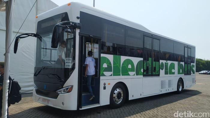 Bus Listrik MAB Moeldoko