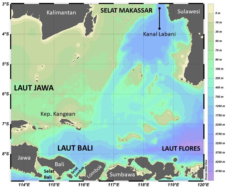 Karakteristik Laut Bali