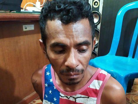 Pelaku penyerangan mobil dinas bea cukai Riau (Dok Kapolresta Pekanbaru Kombes Nandang Mu'min)