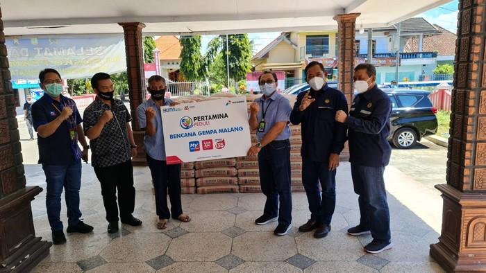 Pertamina Beri Bantuan untuk Korban Gempa Malang