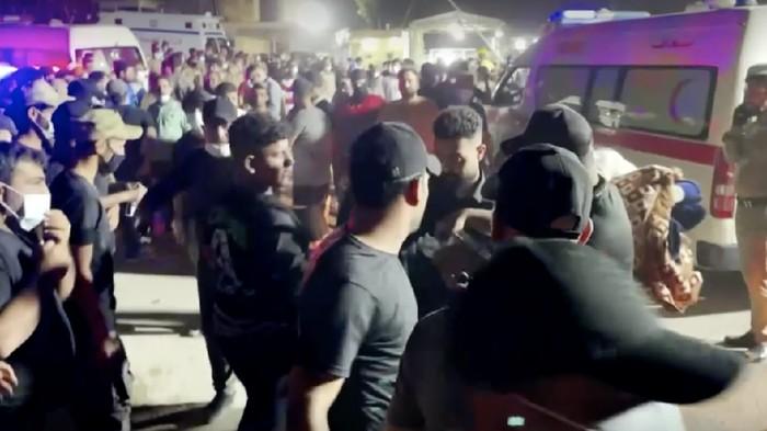 Puluhan Orang Tewas Dalam Kebakaran Rumah Sakit di Irak
