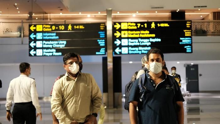 WNA asal India di Bandara Soekarno-Hatta (Dok Imigrasi Bandara Soekarno-Hatta)