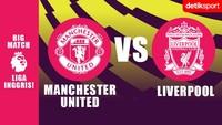 Link Live Streaming MU Vs Liverpool: Big Match Liga Inggris!