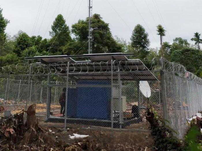BTS USO yang dioperasikan XL Axiata di desa terpencil di Kabupaten Musi Rawas dan Kabupaten Musi Rawas Utara, Sumatera Selatan.