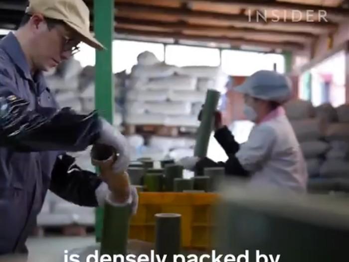 garam bambu berasal dari Korea Selatan dan jadi garam dengan harga termahal di dunia.