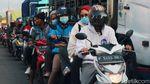 Potret Kemacetan di Jalan Raya Sukabumi Cicurug Pagi Ini