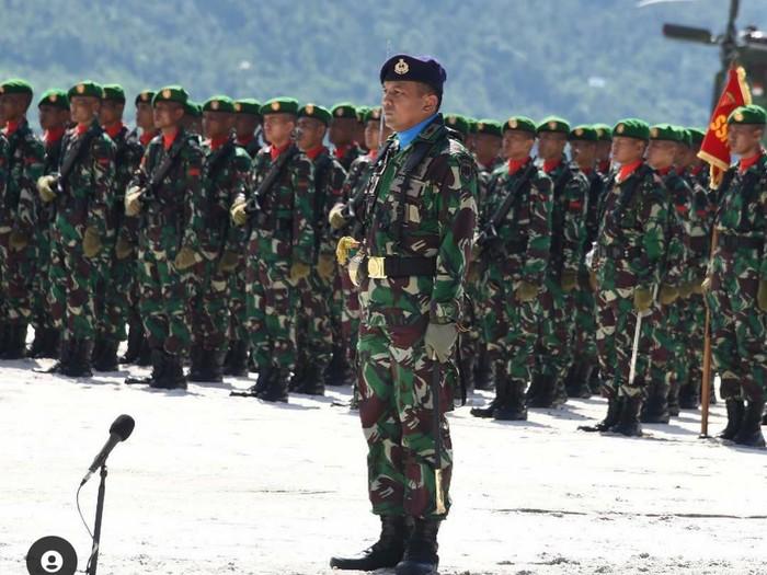Kolonel Laut (P) Harry Setiawan saat menjadi Danlanal Ranai (Foto: dok Istimewa) /Instagram Harry Setiawan
