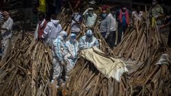 117 Orang Tewas karena Corona Tiap Jam, Gelombang COVID-19 India Makin Brutal