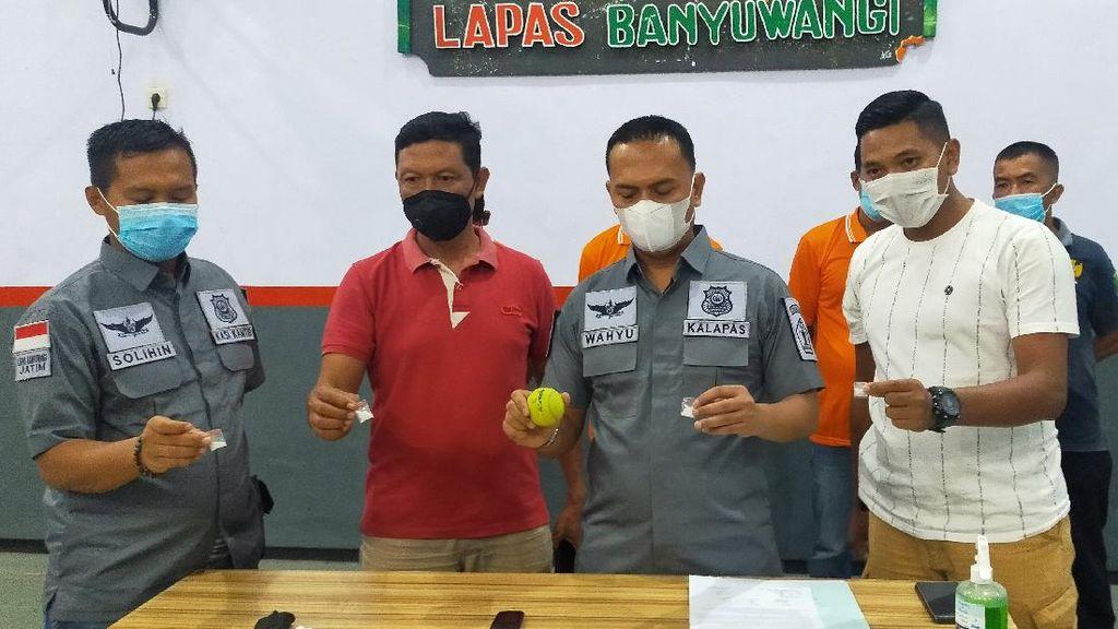 Modus Anyar Selundupkan Narkoba ke Lapas: Lempar Bola Tenis