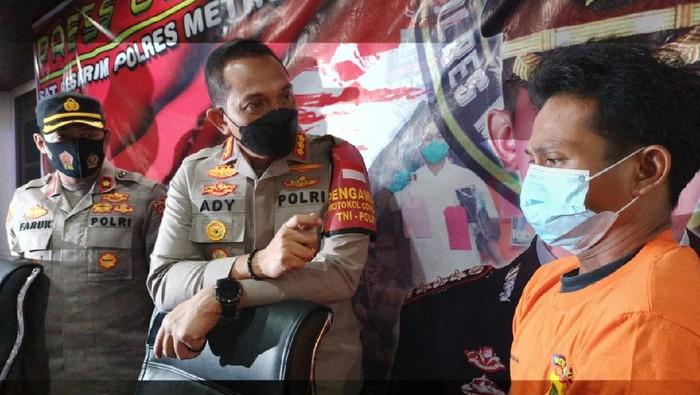 Polisi tangkap pelaku penusukan Pak Ogah di perlintasan rel KA