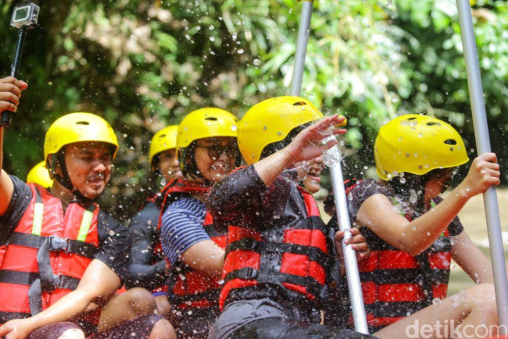Rafting di Sungai Ayung