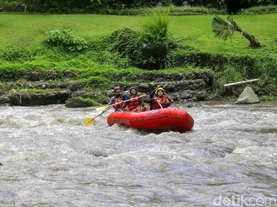 Yuk! Ngerasain Rafting Ala Barack Obama di Ubud