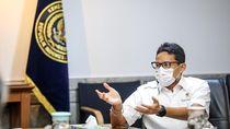 Duet Mesra Sandiaga Uno dan Menteri Bahlil Lahadalia