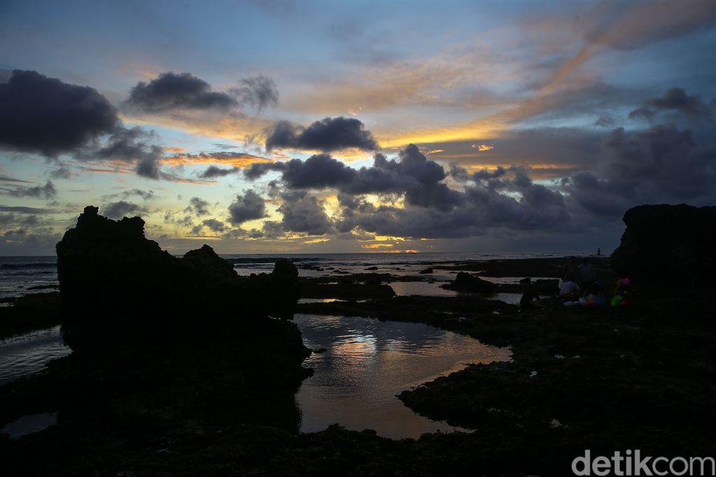 Sunset di Echo Beach Canggu