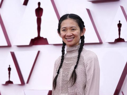 Chloe Zhao, nominated for best director for