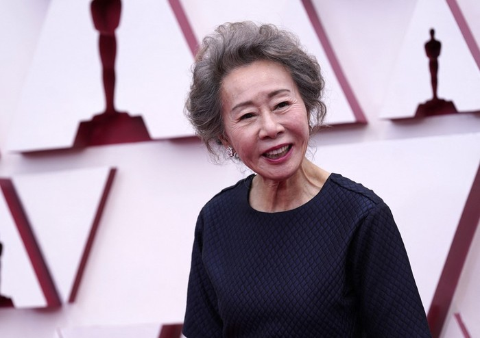 Youn Yuh-Jung, nominated for an Academy Award for Actress in a Supporting Role for her performance in