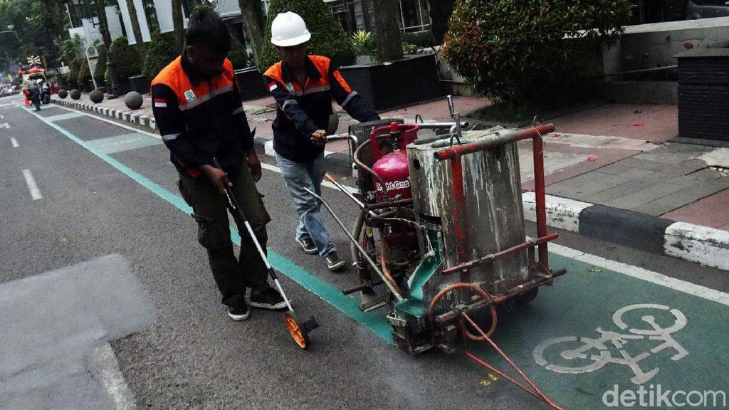 Tak Cuma Jakarta, Jalur Khusus Sepeda Juga Ada di Kota Bandung