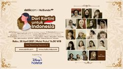 Dian Sastrowardoyo dan Bu Risma Ramaikan Acara Dari Kartini untuk Indonesia