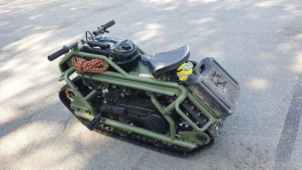 Hamyak, motor bak tank tempur