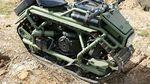 Motor Bertampang Tank Tempur, tapi Lebih Enteng dari Honda BeAT