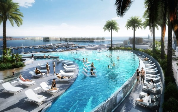 Menara Ciel merupakansalah satu ciptaan yang paling ambisius. Akan selesai pada tahun 2023,hotel iniakan memiliki lebih dari 1.000 kamar dan suite yang tersebar di 82 lantai.