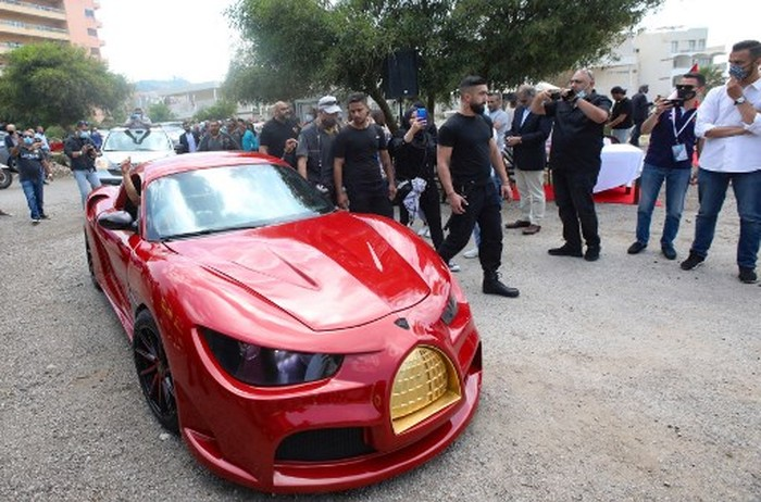 Lebanese-born Palestinian businessman Jihad Mohammad, arrives in the
