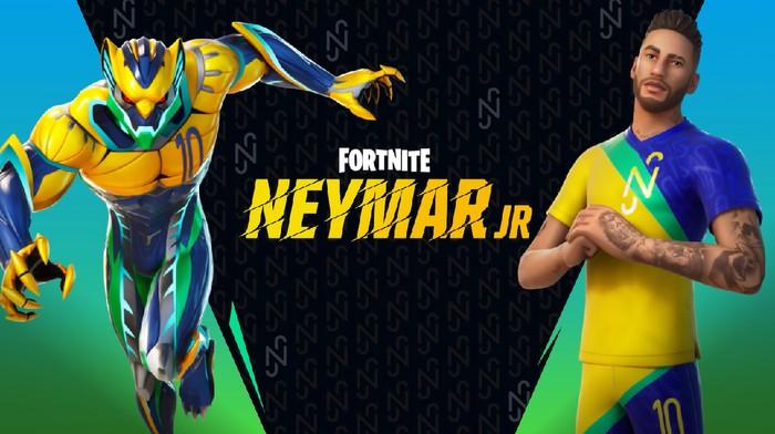 Neymar Jr Siap Bergabung ke Dalam Game Fortnite