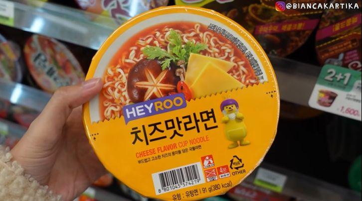 orang indonesia puasa di Korea, buka puasa di minimarket. makan apa saja?