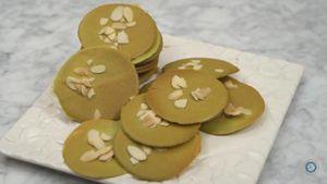 Resep Green Tea Almond Crispy Khas Surabaya
