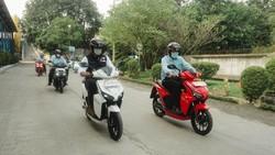 BeAT dan Nmax Cs Bisa Punah! Target Motor Listrik Full di Indonesia Tahun 2040