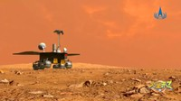 Hebat! Robot Penjelajah China Berhasil Mendarat di Mars