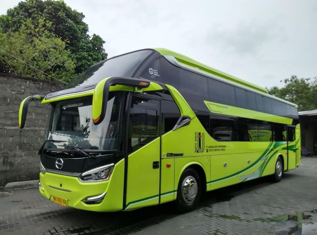 Sleeper bus PO Tami Jaya