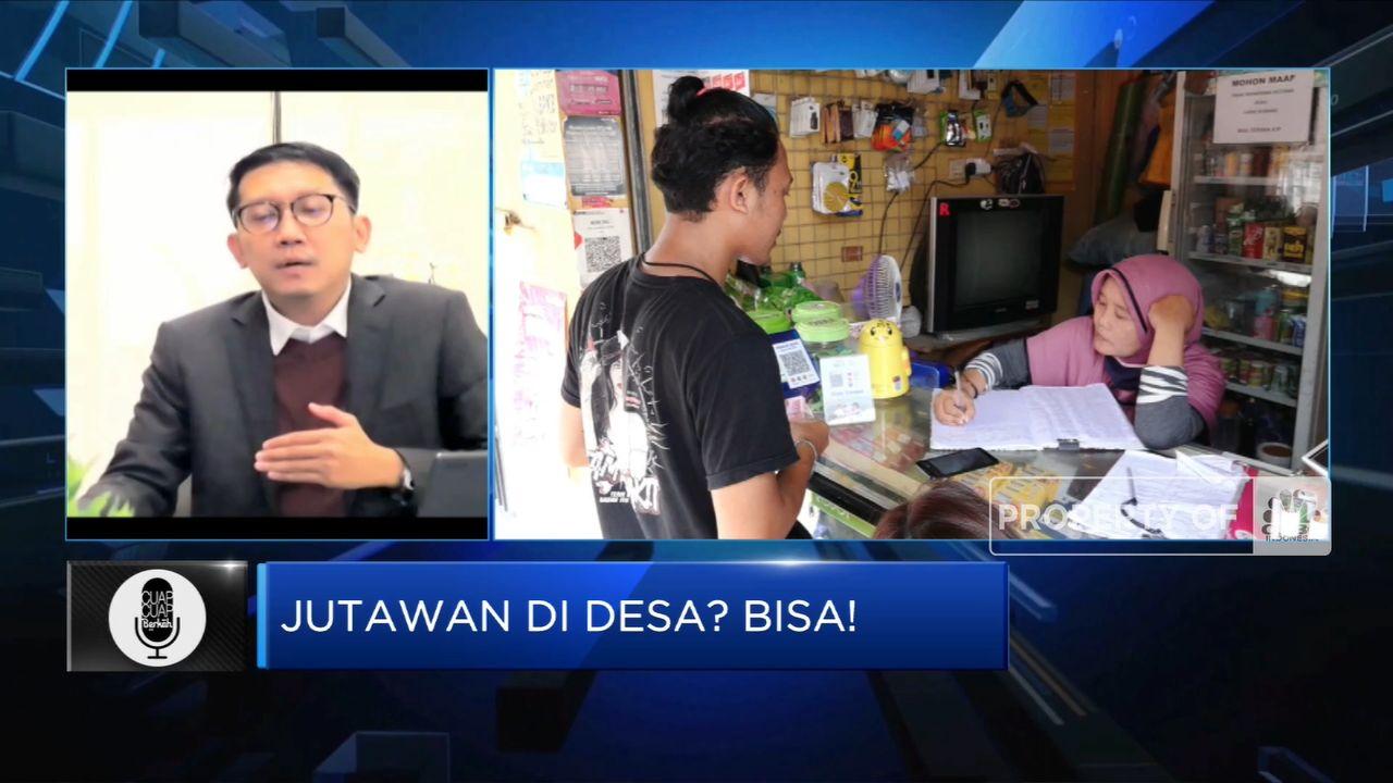 Agen BRILink, Cara Mudah Jadi Jutawan di Desa (CNBC Indonesia TV)