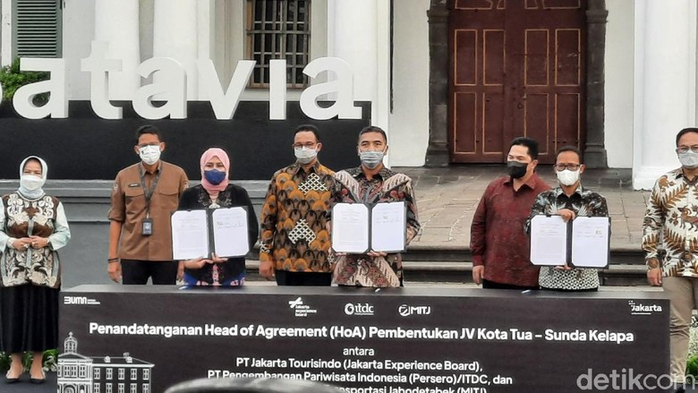 Revitalisasi Kota Tua Jakarta.