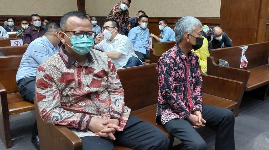 Edhy Prabowo Hadir Langsung Sidang Kasus Ekspor Benur