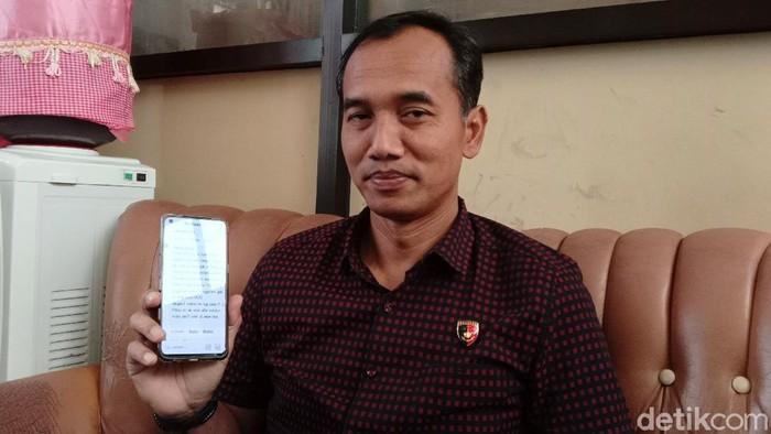 Kasat Reskrim Polres Purworejo, AKP Agus Budi Yuwono saat ditemui detikcom di kantornya, Purworejo, Rabu (28/4/2021).
