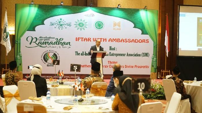 Ketua Umum ISMI Ilham Akbar Habibie,