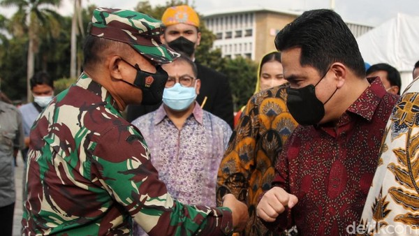 Erick Thohir menyinggung situasi pandemi virus Corona (COVID-19), di mana pariwisata berbasis turis lokal sudah saatnya untuk dibangun. Dia tak menampik bahwa turis internasional penting, tapi turis lokal tidak boleh dilupakan.