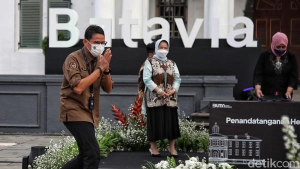 Pembangunan kawasan Kota Tua-Sunda Kelapa ini nantinya tak akan meninggalkan konsep Batavia tempo dulu. Kawasan ini juga akan didorong menjadi wahana edukasi yang dapat mendorong pertumbuhan ekonomi.