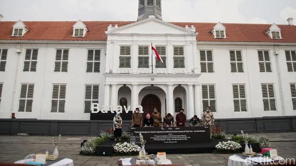 Kawasan Kota Tua-Sunda Kelapa bakal disulap oleh Gubernur DKI Jakarta Anies Baswedan berkolaborasi bersama Menteri Badan Usaha Milik Negara (BUMN) Erick Thohir.