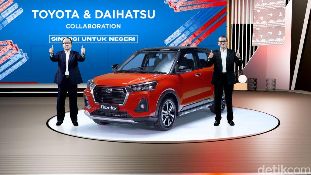 Peluncuran Kolaborasi Toyota Raize-Daihatsu Rocky