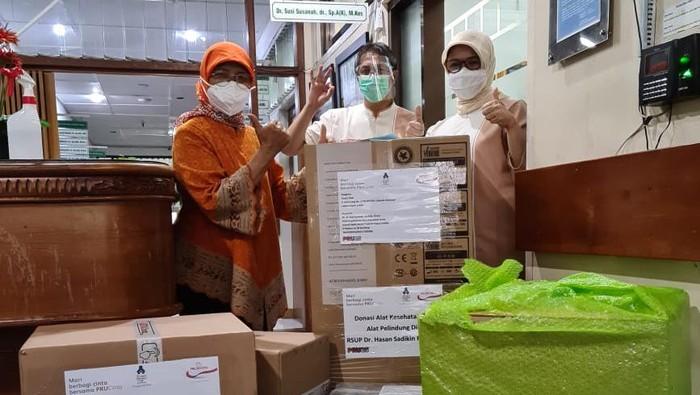 Melalui program 'Berbagi Cinta Bersama PRUCinta', Prudential Indonesia donasikan Rp500 juta untuk perlindungan ekstra para nakes.