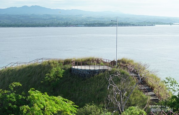Puncak pulau Punten untuk menikmti view yg sangat indah.